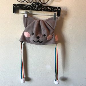 Kitty Cat Hat! rainbow adorable winter hat